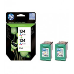 კარტრიჯი  C9505HE HP 134 Tri-Colour Print Crtg. Twin Pack